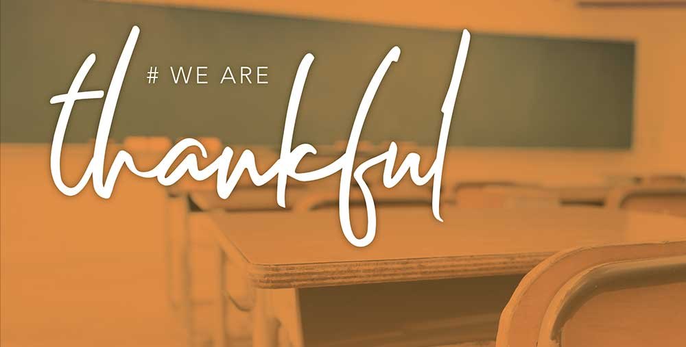 #We Are Thankful